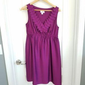 Ann Taylor LOFT Fuchsia Cocktail Dress - Size 6